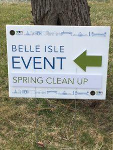 Belle Isle Spring Cleanup