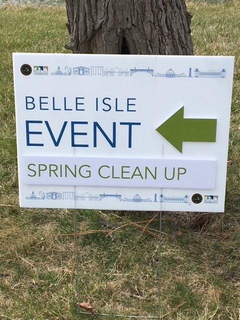 2018 Belle Isle Spring Clean-up